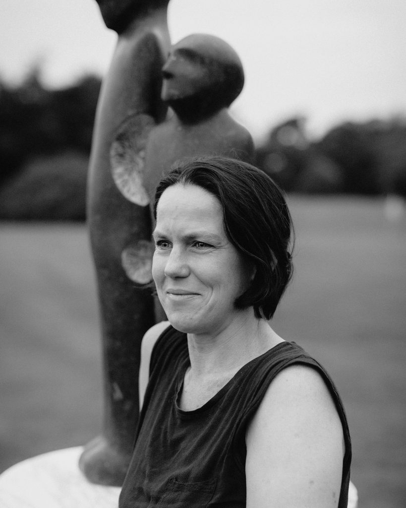 Sonia Caldwell's well known Irish Sculptures are recognised for her stone work